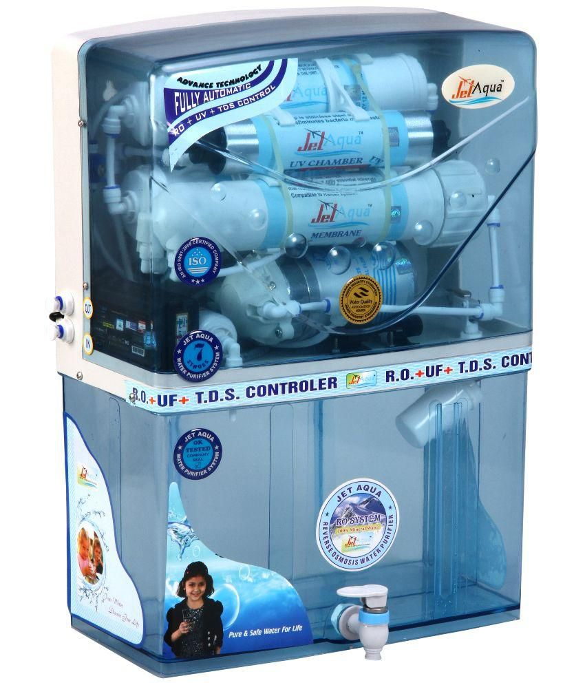 Jet Aqua Super 10 Ltr RO UV TDS Water Purifier