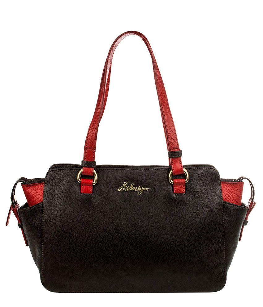 Hidesign Sb Olivia 01 Ge Brown Leather Shoulder Bag