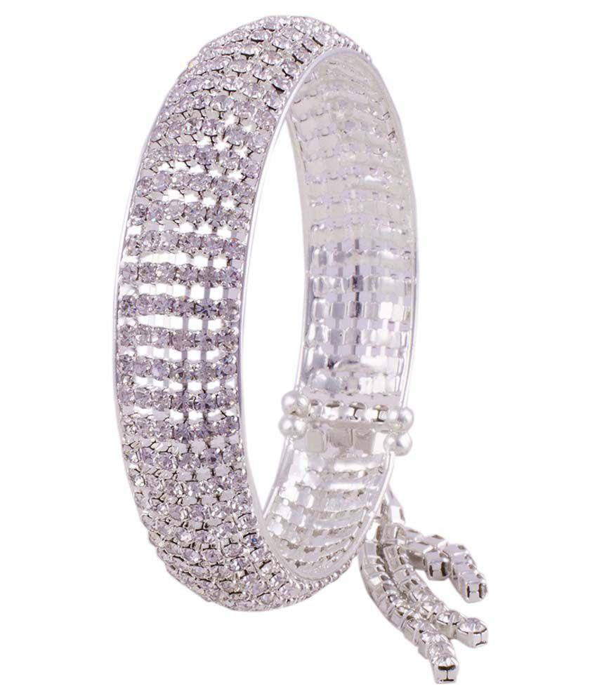R18jewels-fashion&u Silver Alloy Bracelet