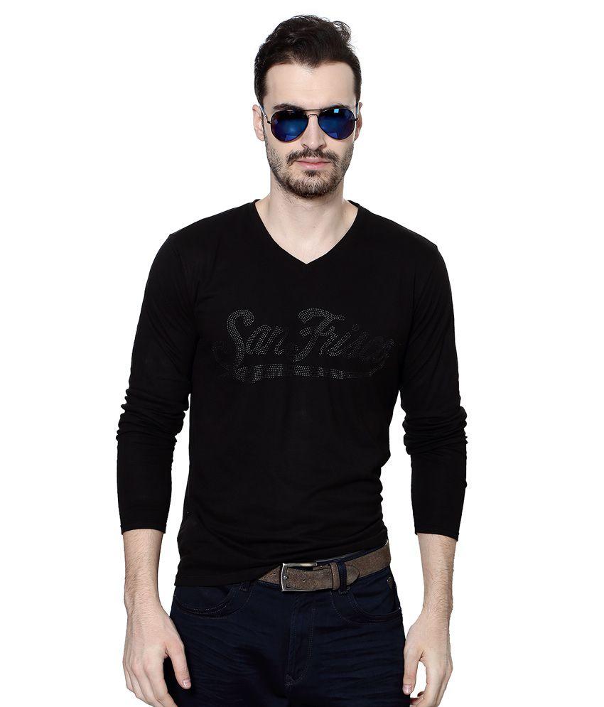 SF Jeans by Pantaloons V-Neck T Shirt