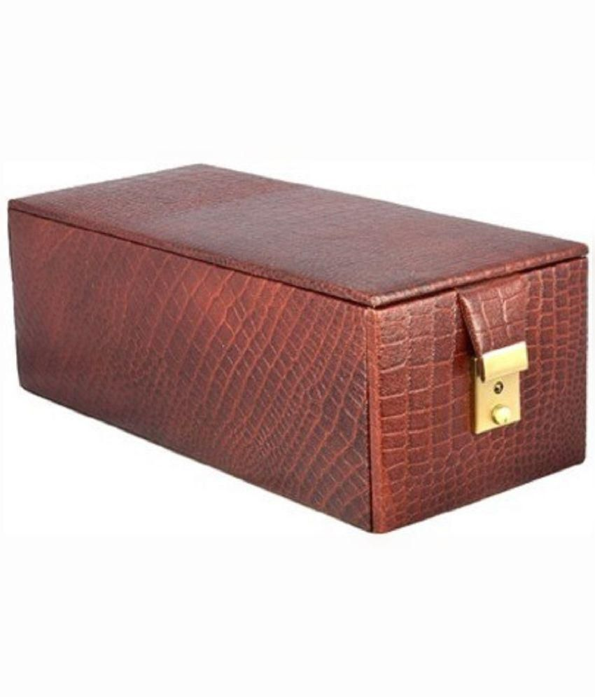 Laveri Locker Jewellery Vanity Box Leather