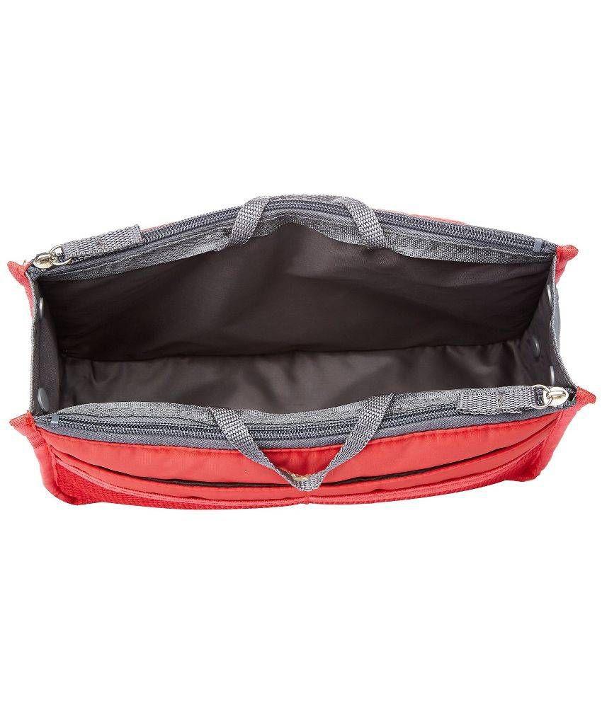 Bst Multipurpose Handbag Organizer Pink