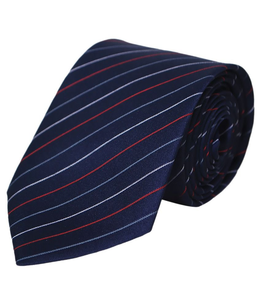 Paranoid Navy Blue Formal Tie