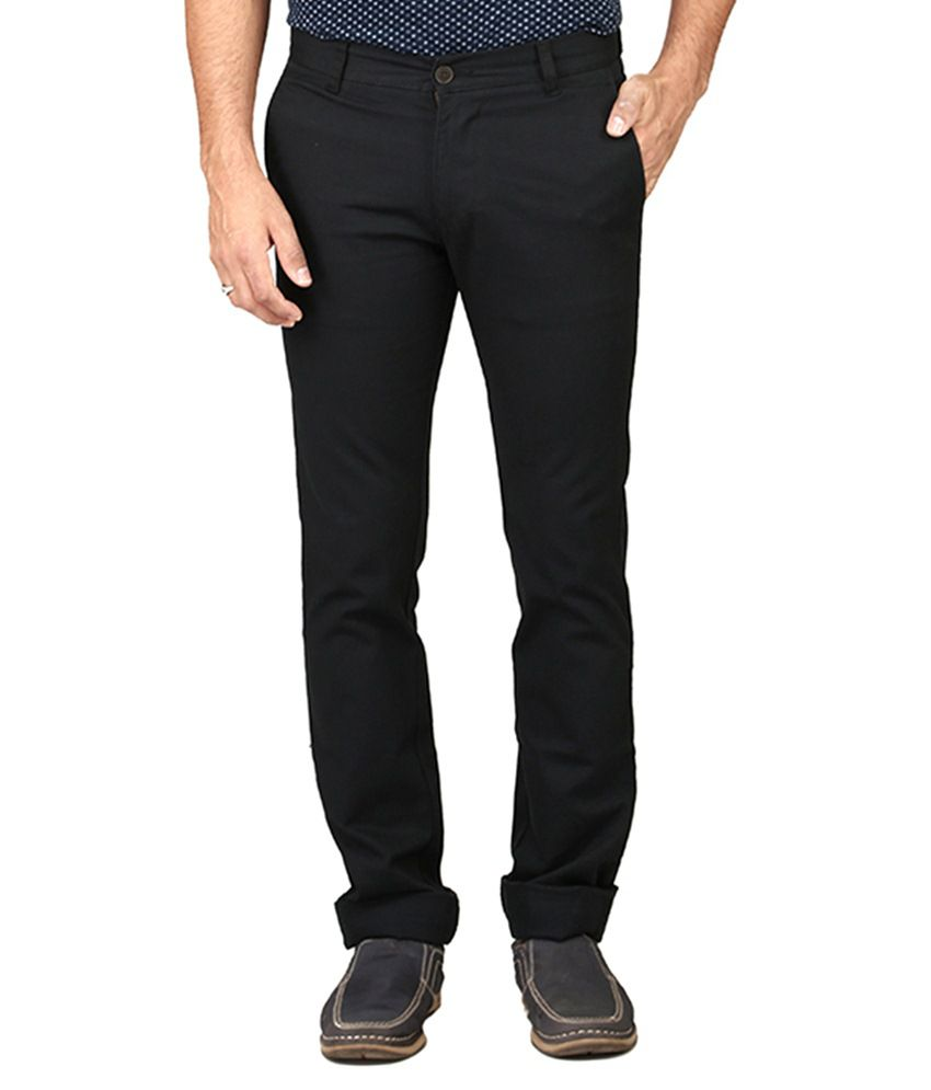 Irony Grey Slim Fit Casual Chinos