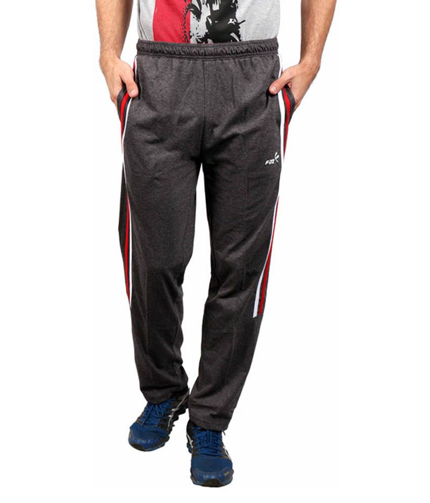 Fitz Grey Cotton Trackpant