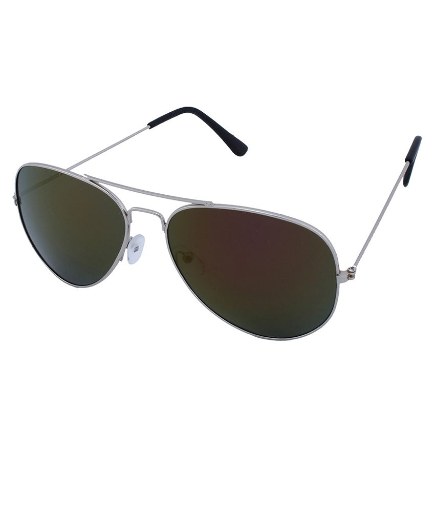 Epic Ink Silver Metal Sunglasses