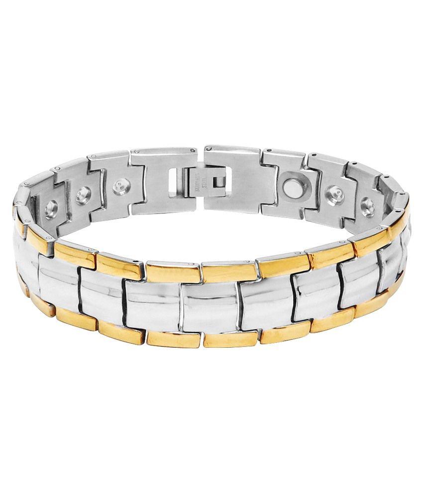 Sparkling Drop Multi Stainless Steel Bracelet
