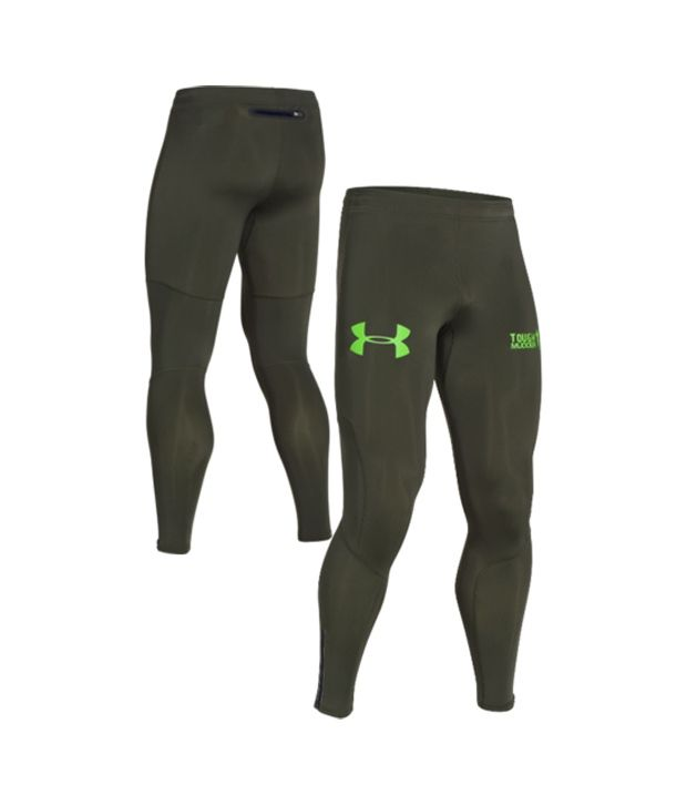 Under Armour Under Armour Men's Tough Mudder Obstacle Compression Leggings, Rifle Gr/gecko Gr/gcko Gr