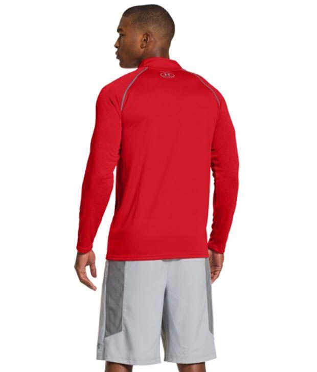 Under Armour Under Armour Men's Ua Tech Quarter Zip Long Sleeve Shirt, White/steel/steel