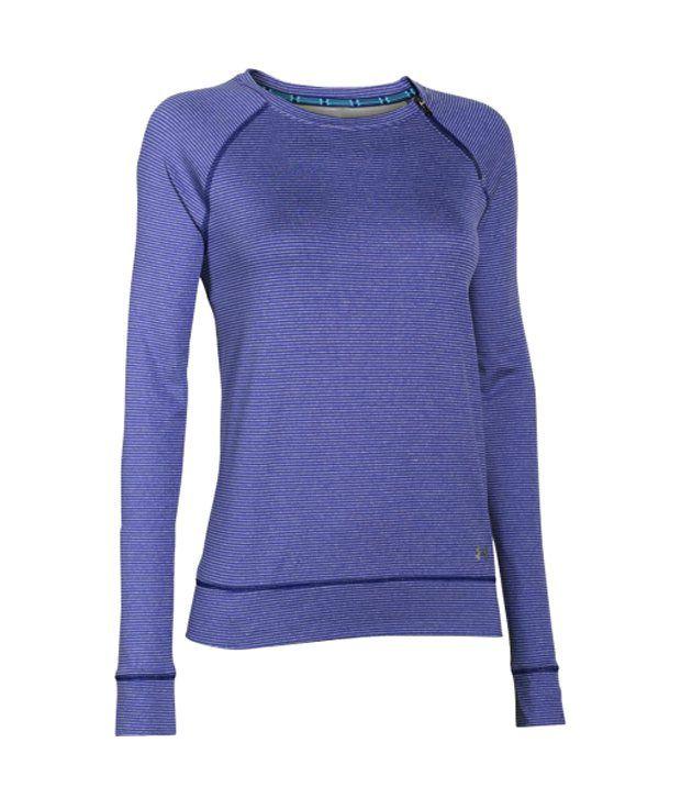 Under Armour Under Armour Women's Coldgear Cozy Zip Crewneck Long Sleeve Shirt, Veneer