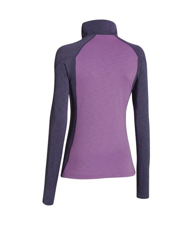 Under Armour Under Armour Women's Coldgear Cozy Half Zip Long Sleeve Shirt, Flash Light