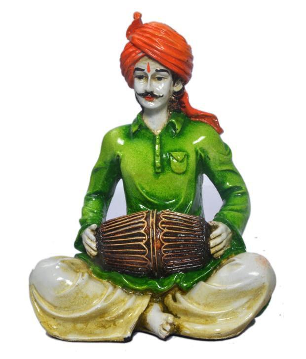 Earth Orange Resin Figurines 15