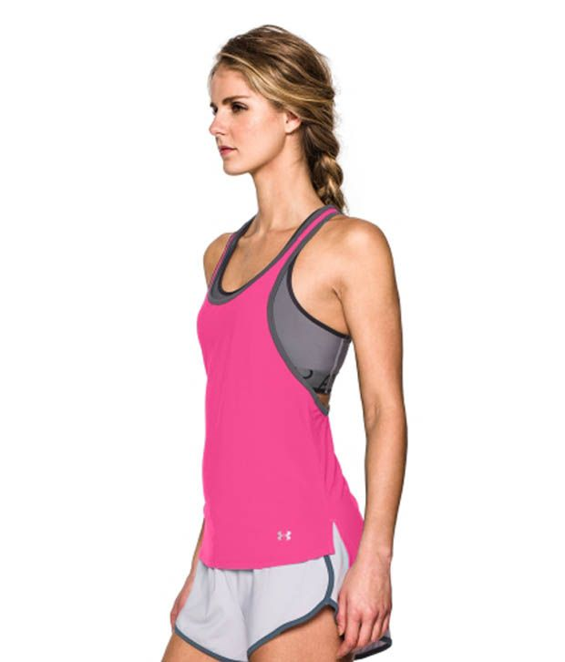 Under Armour Under Armour Women's Alpha Mesh Loose Tank Top, Pacific Blue