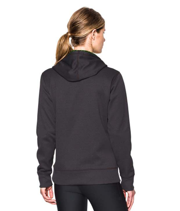 Under Armour Under Armour Women's Storm Armour Fleece Printed Big Logo Hoodie, Black/white
