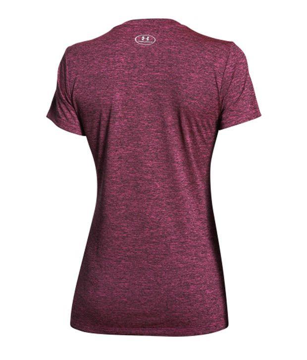 Under Armour Under Armour Women's Tech Dope Dye V-neck T-shirt, Mirror
