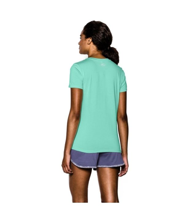Under Armour Under Armour Women's Twisted Tech V-neck Shirt, Blue Knight
