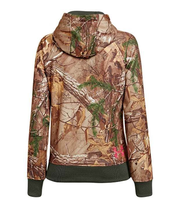 Under Armour Under Armour Women's Full Zip Camo Hoodie, Snow Reaper Camo