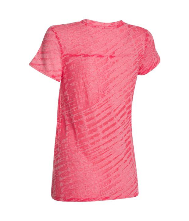 Under Armour Under Armour Women's Charged Cotton Tri-blend Novelty Standout T-shirt, Pink Shock