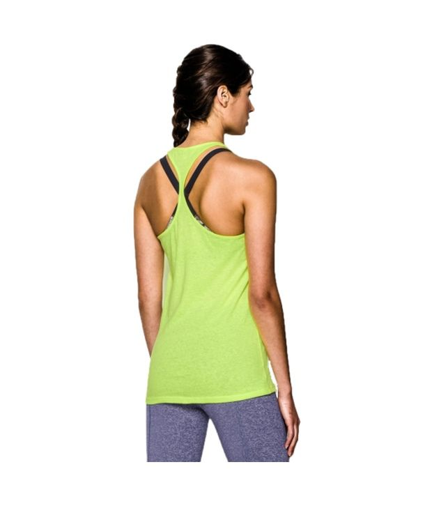 Under Armour Under Armour Women's Charged Cotton Tri-blend Stadium Tank Top, Black