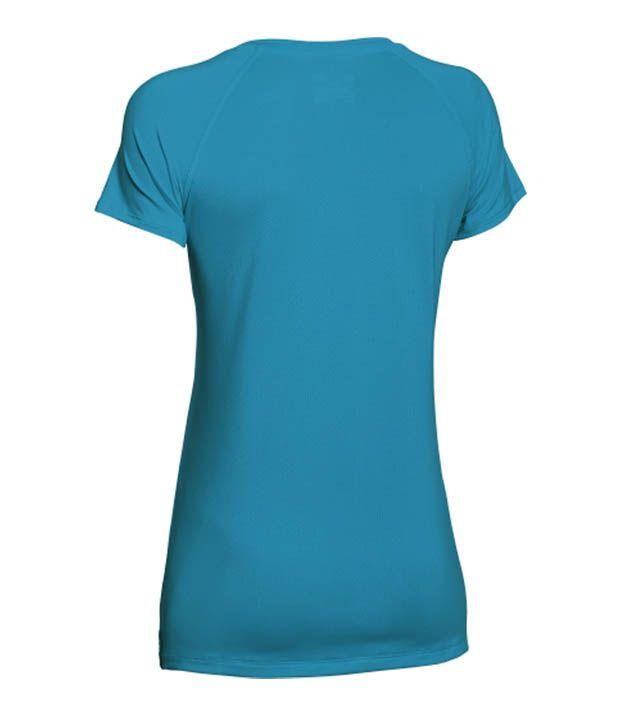 Under Armour Under Armour Women's Heatgear Armour Mesh V-neck T-shirt, Graphite