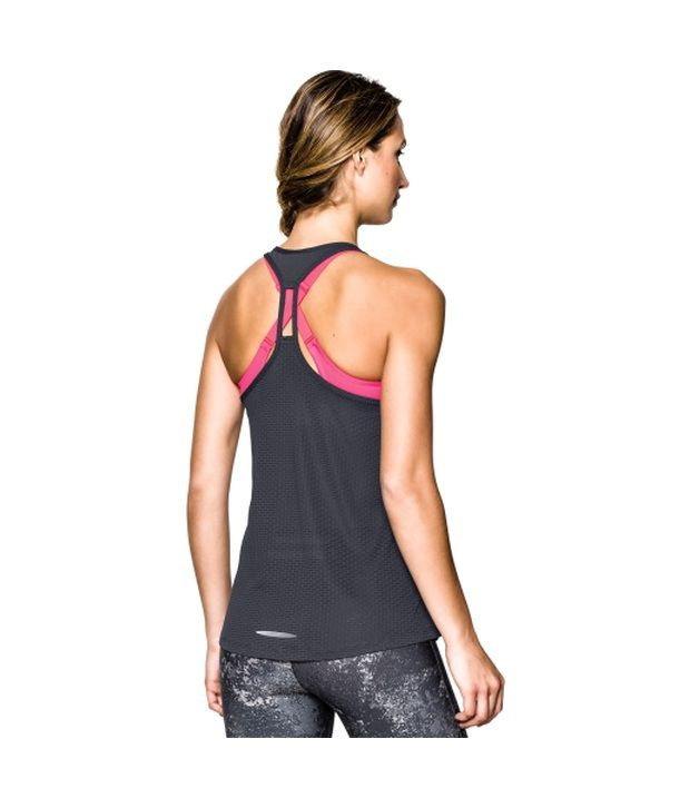 Under Armour Under Armour Women's Fly By Mesh Stretch Tank Top, Veneer