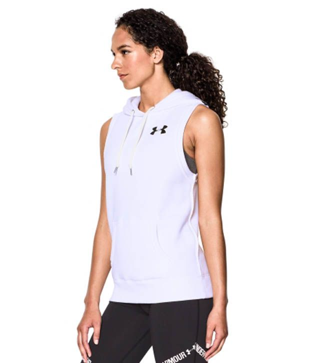 Under Armour Under Armour Women's Favorite Fleece Hooded Vest, White