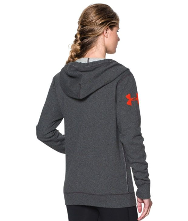 Under Armour Under Armour Women's Favorite Fleece Wordmark Hoodie, Pacific/white