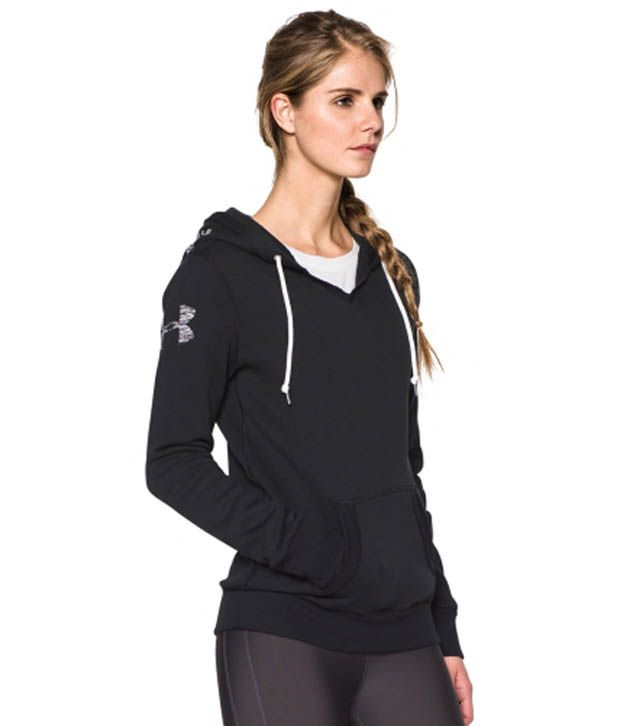 Under Armour Under Armour Women's Favorite Graphic Pullover Hoodie, Black