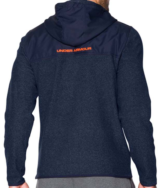 Under Armour Men's ColdGear Infrared Survival Fleece Full-Zip Hoodie Stealth Gray/Black