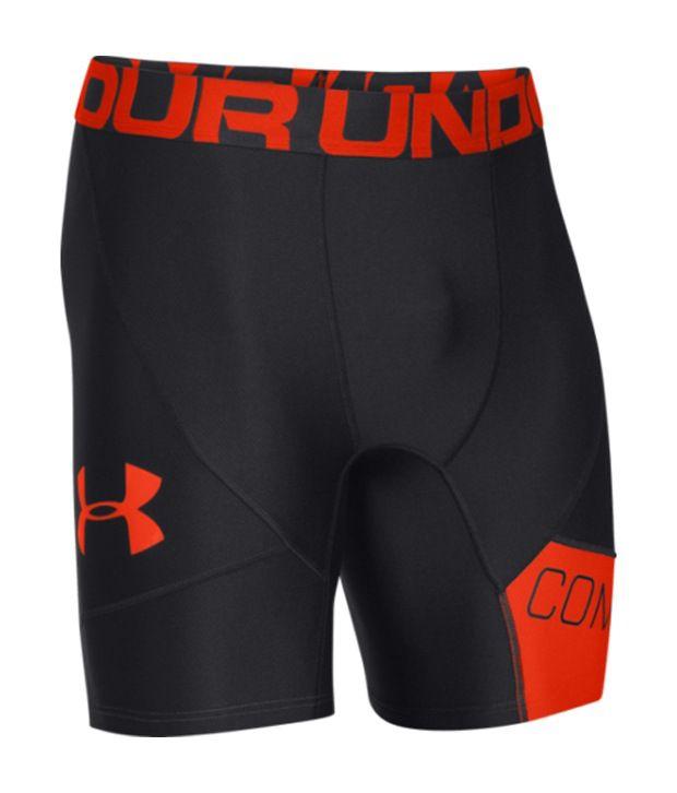 Under Armour Men's Combine Training Compression Shorts Graphite/Hvy/Hvy