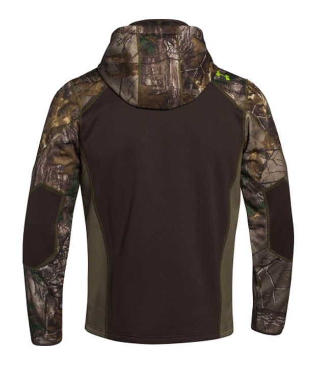 Under Armour Men's Scent Control Armour Fleece Ninja Hoodie Mossy Oak Treestand