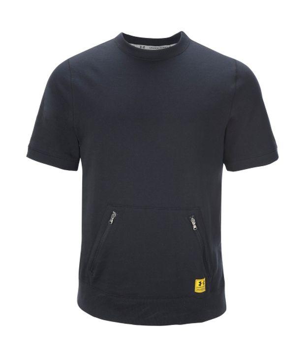 Under Armour Men's Storm Mastermind Crewneck Short Sleeve Basketball Shirt, Black