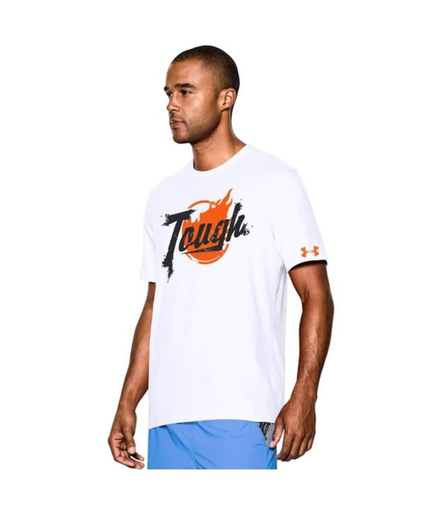 Under Armour Men's Tough Mudder Graphic T-Shirt, White