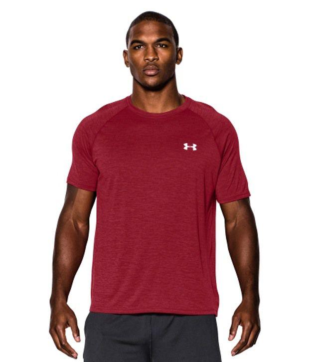 Under Armour Men's Twist Tech Short Sleeve Shirt, Feisty Twist