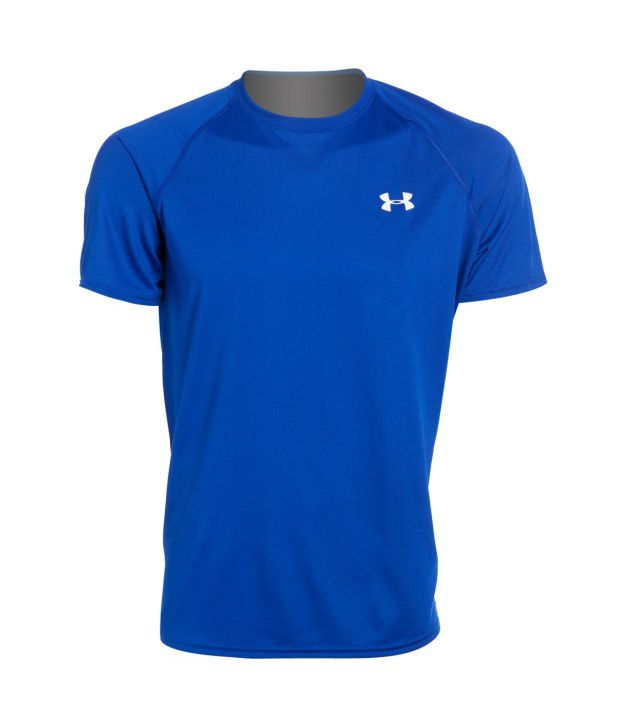 Under Armour Men's Ua Tech Short Sleeve T-shirt, Black/white