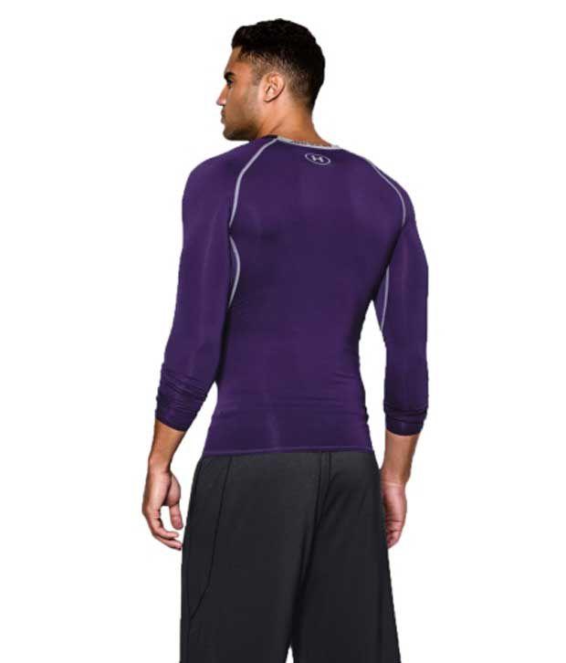 Under Armour Under Armour Men's Heatgear Armour Long Sleeve Compression Shirt, Carolina Blue