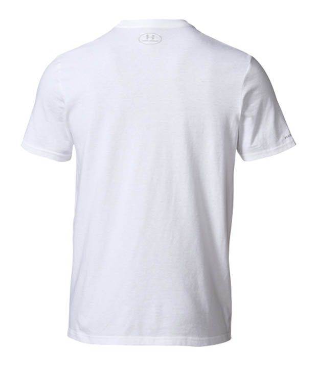 Under Armour Under Armour Men's Charged Cotton Demand Victory Graphic T-shirt, White/elemental