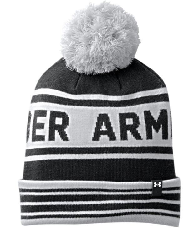 Under Armour Under Armour Men's Retro Pom Beanie, Petrol/pacific