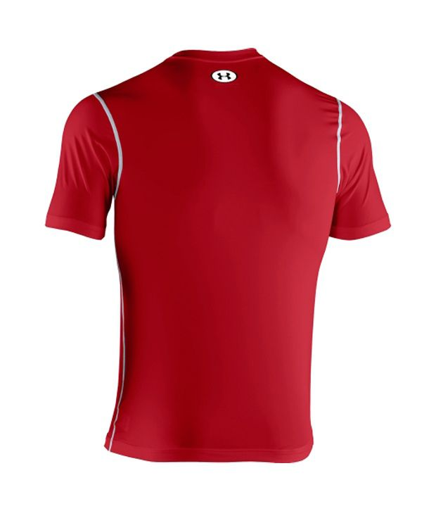 Under Armour Under Armour Men's Heatgear Sonic Fitted T-shirt, Red
