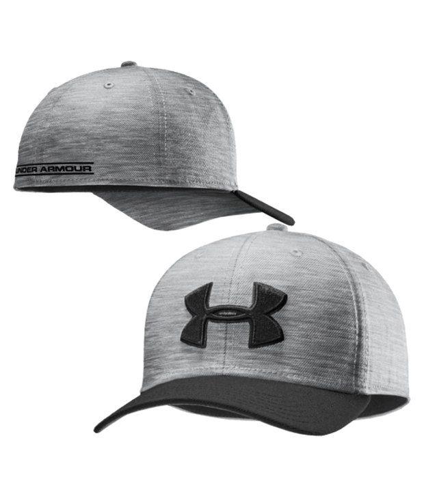 Under Armour Under Armour Men's Low Crown Stretch Fit Hat, Black