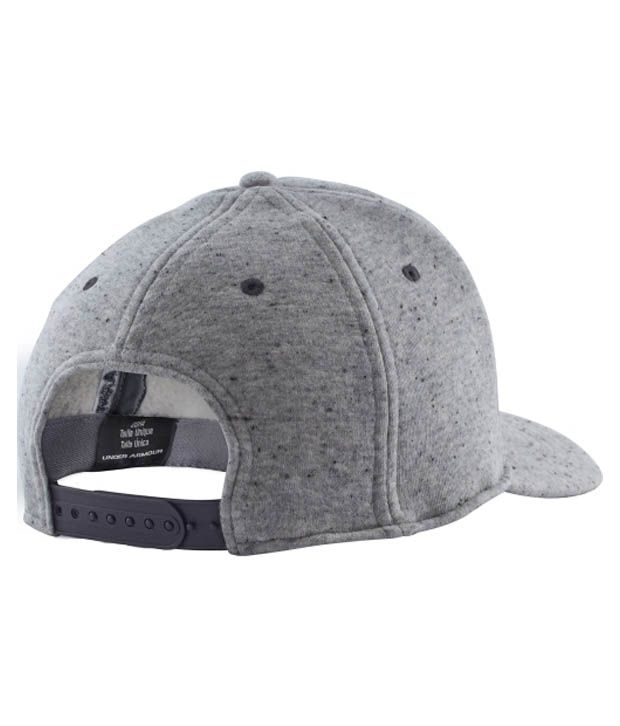 Under Armour Under Armour Men's Quilted Snapback Hat, Black/graphite