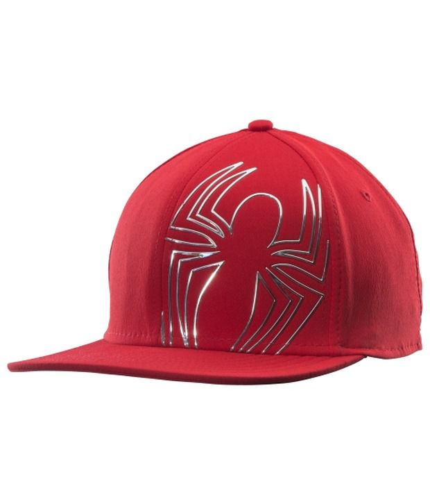 Under Armour Under Armour Men's Alter Ego Spider-man Chrome Snapback Hat, Red/silver
