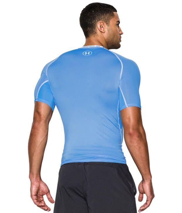 Under Armour Under Armour Men's Heatgear Armour Compression Short Sleeve Shirt, Black/hvy