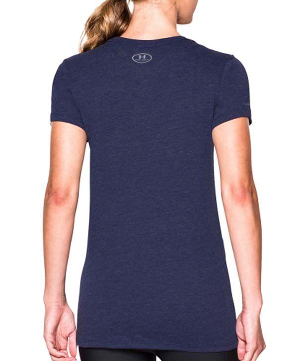 Under Armour Under Armour Women's Earn It Tri-blend T-shirt, Blue Knight