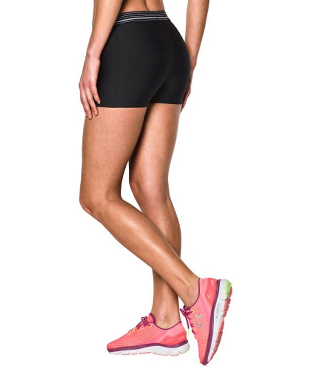 Under Armour Under Armour Women's Heatgear Armour 3 Inches Compression Shorts, Rebel Pink/ox Blood