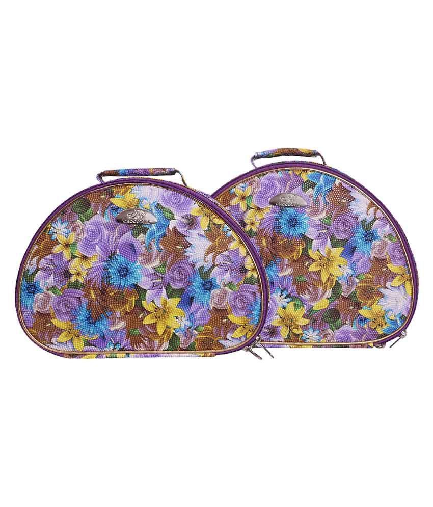 Samaa Multicolor Designer Jewellery Box - Set Of 2