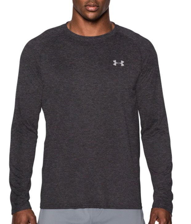 Under Armour Under Armour Men's Tech Long Sleeve Shirt, White/steel