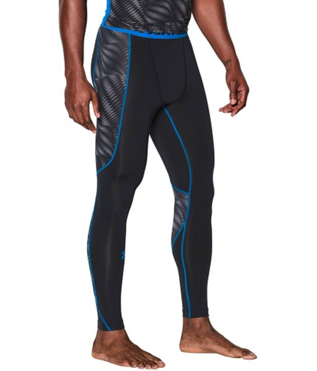 Under Armour Under Armour Men's Undeniable Compression Leggings, Wire/hyper Green