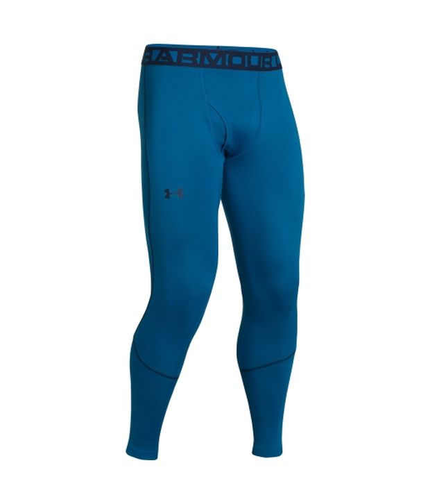 Under Armour Under Armour Men's Coldgear Infrared Grid Leggings, Key Blue/academy