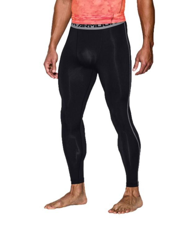 Under Armour Under Armour Men's Heatgear Armour Compression Leggings, Red/black